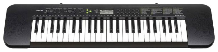 Синтезатор CASIO CTK-240 49клав. черный