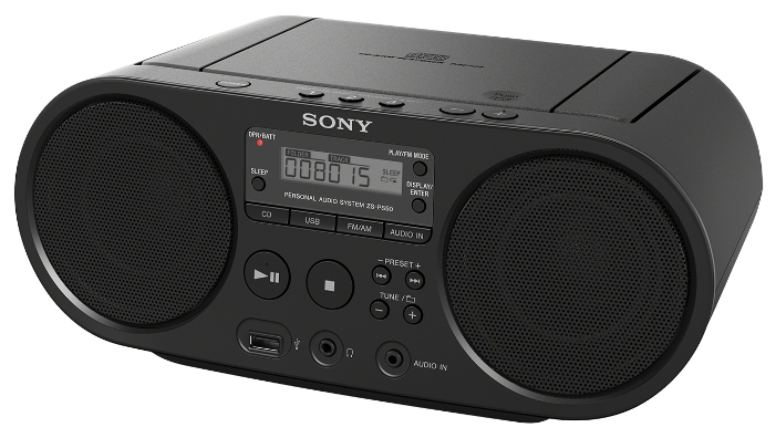 Магнитола SONY ZS-PS50W