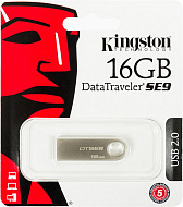 16GB USB 2.0 Kingston DTSE9 металл