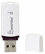 32GB USB 2.0 Smart Buy Crown White
