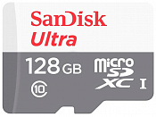 128GB MicroSD SanDisk Class 10 Ultra Android UHS-I  (80 Mb/s) без адаптера