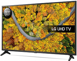 Телевизор LED LG 65UP75006LF 4K Smart черный